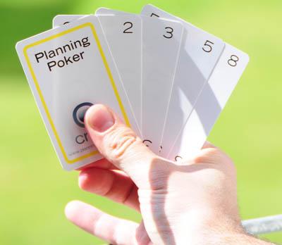 Cartas de planning poker