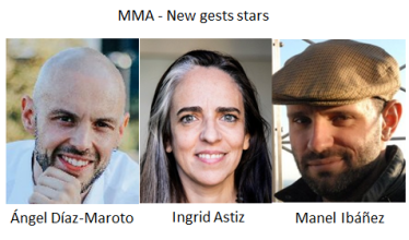 MMA - new guest stars